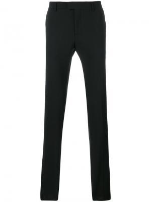 Классические брюки Les Hommes. Цвет: чёрный