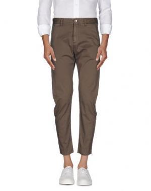 Повседневные брюки OFFICINA 36. Цвет: хаки