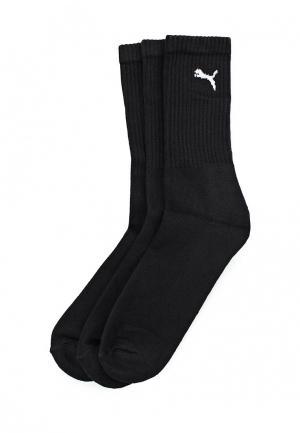 Комплект носков 3 пары Puma. Цвет: черный