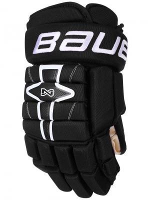 Перчатки BAUER NEXUS N7000 Юниорские. Цвет: черный