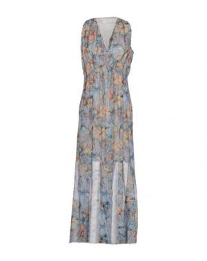 Длинное платье KAOS. Цвет: небесно-голубой