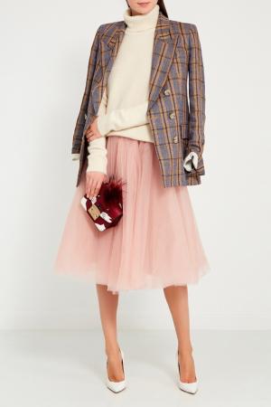 Розовая юбка-пачка VIKTORIA IRBAIEVA. Цвет: розовый