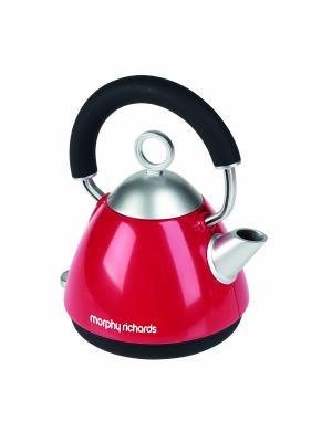 Чайник Morphy Richards Casdon. Цвет: красный
