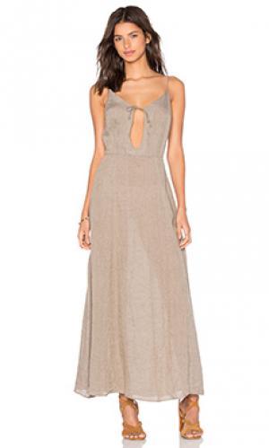 Платье ava AGAIN. Цвет: серый