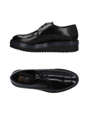 Обувь на шнурках SAX. Цвет: черный