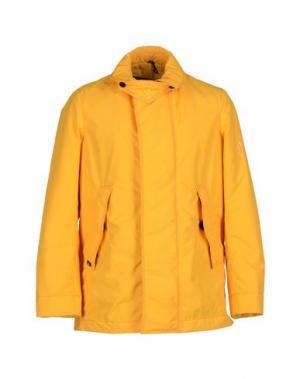 Куртка RRD. Цвет: желтый