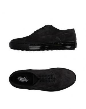 Обувь на шнурках ALEJANDRO INGELMO. Цвет: свинцово-серый