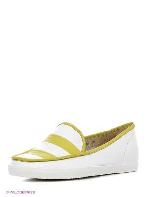 Ботинки Sinta Gamma. Цвет: салатовый, белый