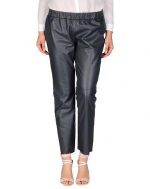 Повседневные брюки BDBA. Цвет: серый