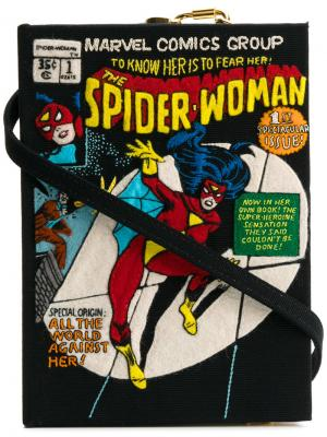 Клатч Spider Woman Olympia Le-Tan. Цвет: чёрный