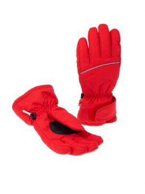 Перчатки Чудо-Кроха. Цвет: красный