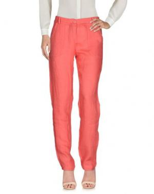 Повседневные брюки B.YU. Цвет: коралловый