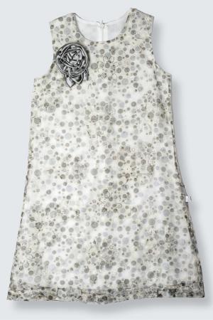 Платье Lilax Baby. Цвет: серый