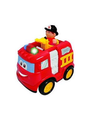 Игрушка на радиоуправлении Пожарная машина Kiddieland. Цвет: красный