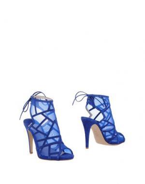 Полусапоги и высокие ботинки ROBERTO FESTA. Цвет: синий