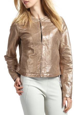 Куртка Ibana. Цвет: золотой