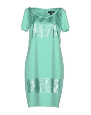 Короткое платье CHIARA D'ESTE. Цвет: светло-зеленый