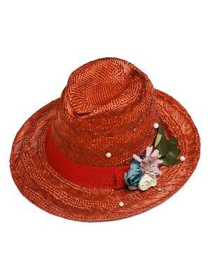 Шляпа Kameo-bis. Цвет: коричневый, голубой, зеленый