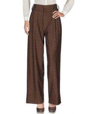 Повседневные брюки SOHO DE LUXE. Цвет: какао