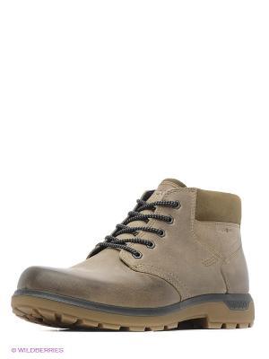 Ботинки ECCO. Цвет: светло-коричневый