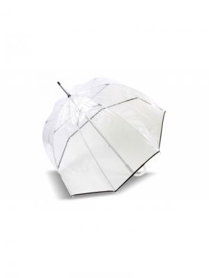 Зонт Isotoner. Цвет: черный, прозрачный