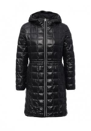 Куртка утепленная Marina Yachting. Цвет: черно-белый