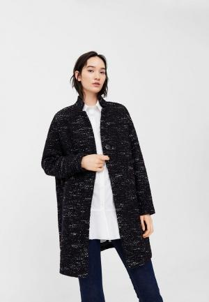 Пальто Mango. Цвет: черный