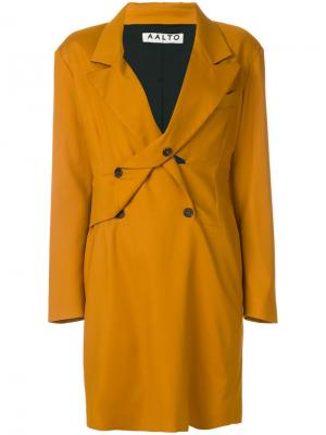 Платье-блейзер Aalto. Цвет: жёлтый и оранжевый