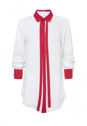 Рубашка LO. Цвет: белый