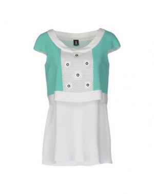 Блузка 1-ONE. Цвет: светло-зеленый