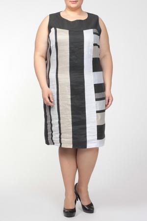 Платье QNEEL Q'NEEL. Цвет: серый