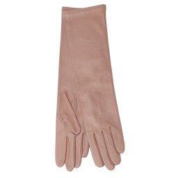 Перчатки  OPERA/S бежево-розовый AGNELLE