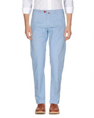 Повседневные брюки BARONIO. Цвет: небесно-голубой