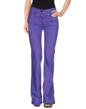 Джинсовые брюки FOURMINDS. Цвет: фиолетовый