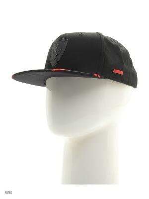Бейсболка Ferrari LS AERO cap Puma. Цвет: черный