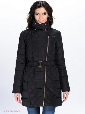 Пальто QUIOSQUE. Цвет: черный