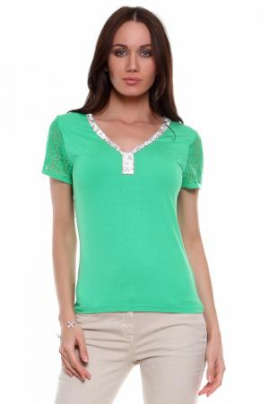 Блуза Fuego. Цвет: зеленый