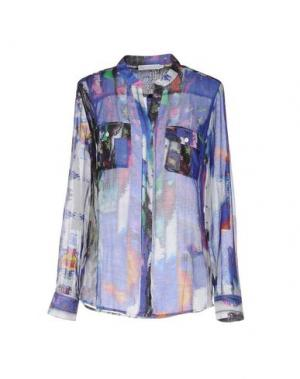 Pубашка SILK AND CASHMERE. Цвет: фиолетовый