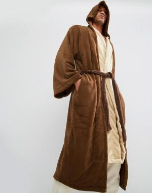 Robes Халат Star Wars Jedi. Цвет: коричневый