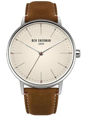 Часы Ben Sherman. Цвет: светло-коричневый