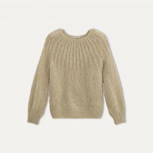 Пуловер LUEUR MES DEMOISELLES. Цвет: охра