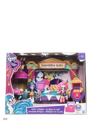 Игровой набор мини-кукол  Кинотеатр Hasbro. Цвет: зеленый