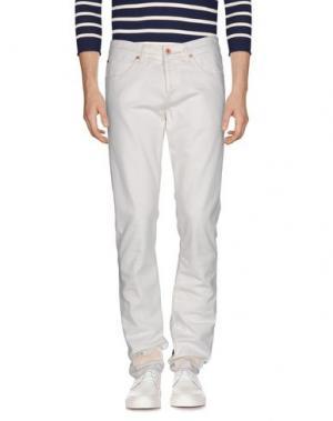 Джинсовые брюки OFF WHITE C/O VIRGIL ABLOH. Цвет: слоновая кость