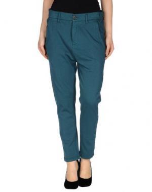Повседневные брюки NOVEMB3R. Цвет: цвет морской волны