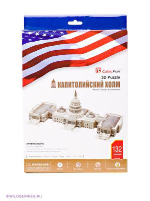 Набор для конструирования Капитолийский холм CubicFun. Цвет: белый, серый