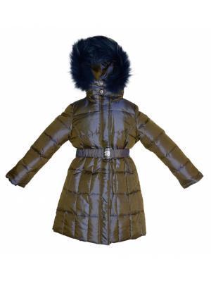 Пальто BORELLI. Цвет: сиреневый, фиолетовый