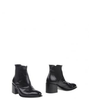 Полусапоги и высокие ботинки INK. Цвет: черный