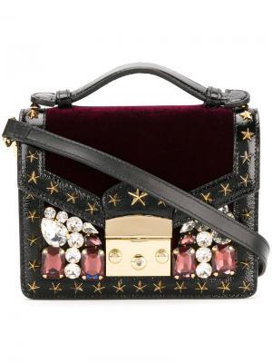 Мини сумка-тоут Chelsea Gedebe. Цвет: красный