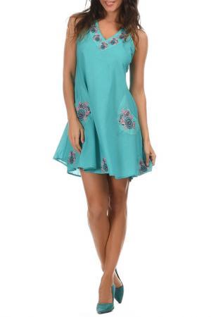 Платье Aller Simplement. Цвет: голубой