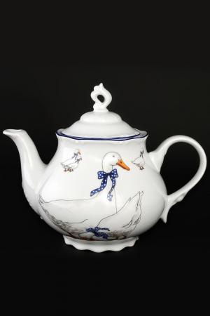 Чайник 1,2 л Bohemia. Цвет: белый, синий